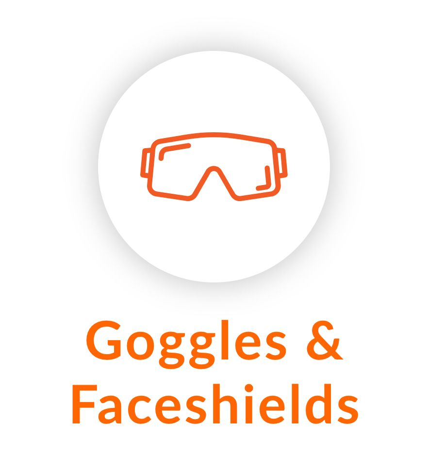 Product Category Goggles and Faceshields